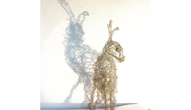 Hare from wie and copper wire