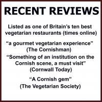 recent reviews of the bean inn vegetarian and vegan restaurant st ives cornwall
